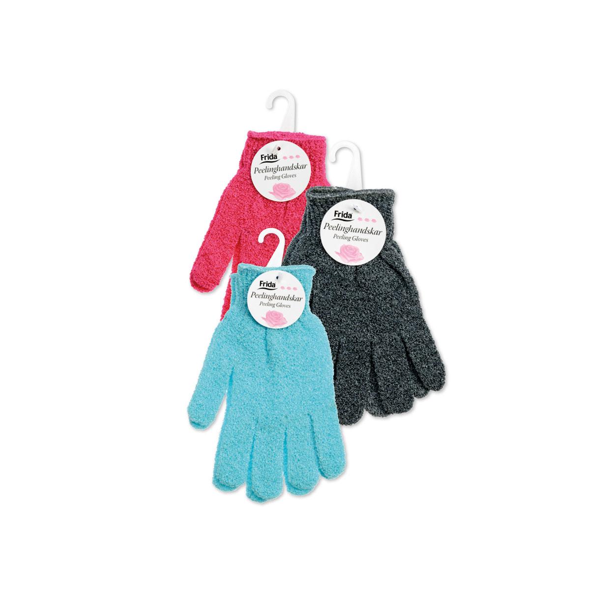 Peeling gloves